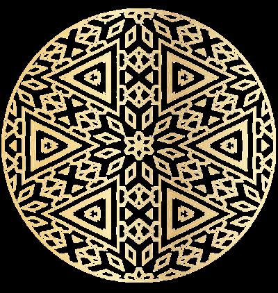 SHERREN GOLD MANDALA